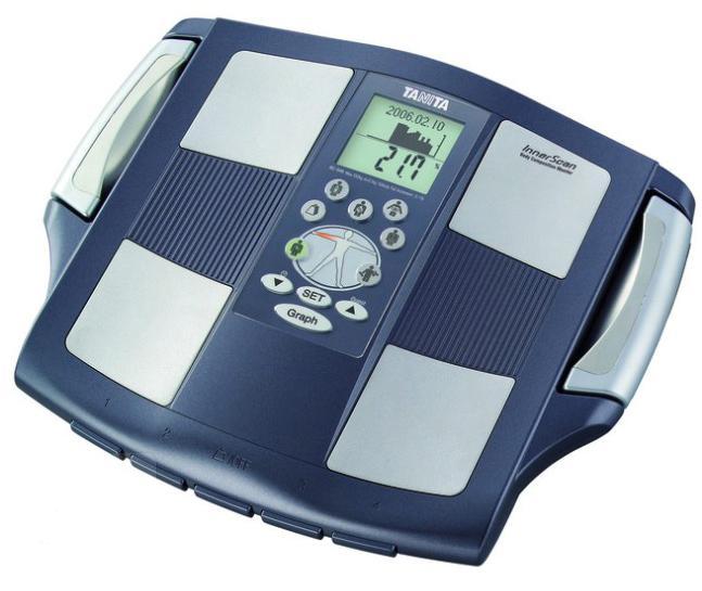 Электронные напольные весы производства компании Tanita Corporation