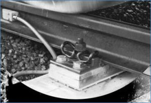 Весы вагонные типа «датчик – шпала»