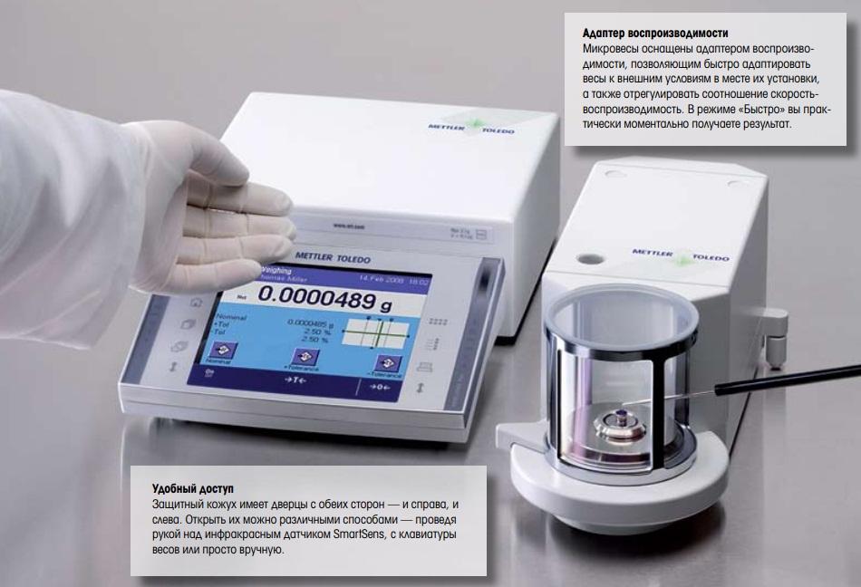 адаптер воспроизводимости микровесов