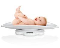 электронные весы для взвешивания детей