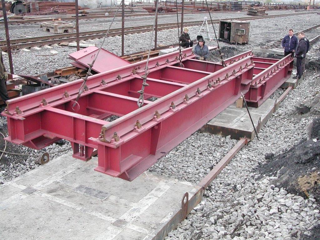 Конструкция весов моделей 7260М/1 и 7260М/2