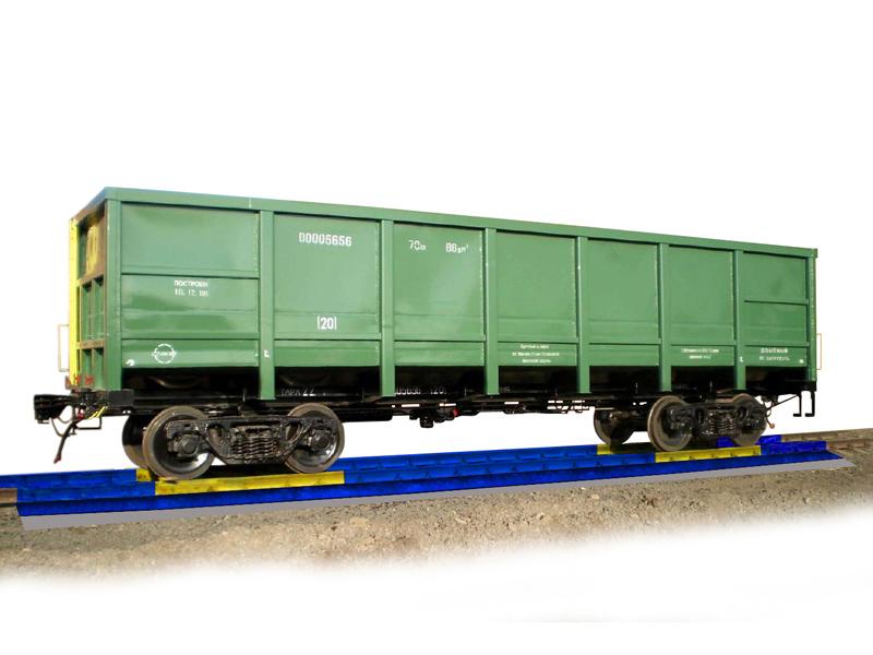 Вагонные весы модели 7260М