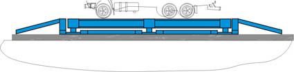 установка весов на дорожное покрытие