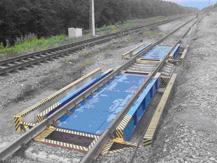 Железнодорожные фундаментные весы