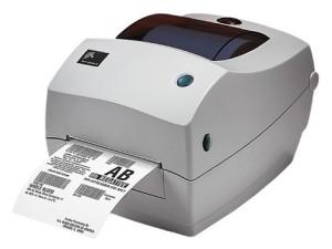 Настольный принтер штрих-кодов ZEBRA TLP 2844