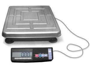 Товарные платформенные весы с оцинкованной платформой