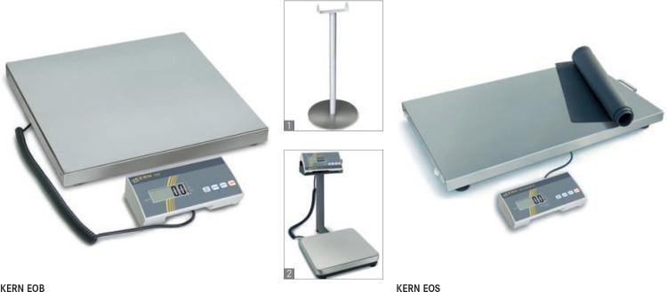 Весы низкопрофильные KERN