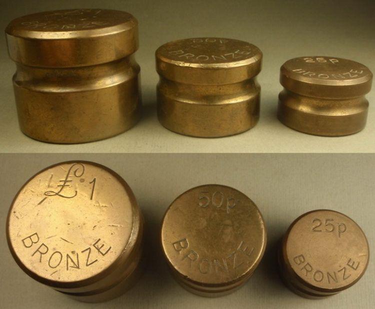 дисковые гири из бронзы
